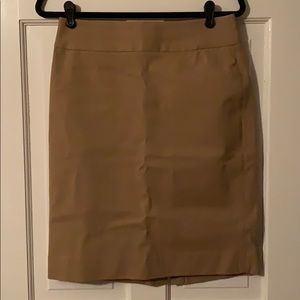 Banana Republic Tan Skirt, Size 6